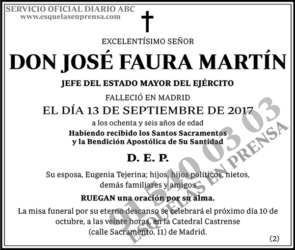 José Faura Martín